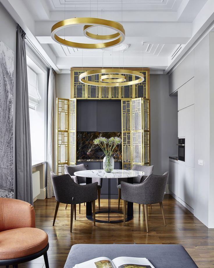 Интерьер в стиле арт-деко - интересные фото подборки дизайна комнат