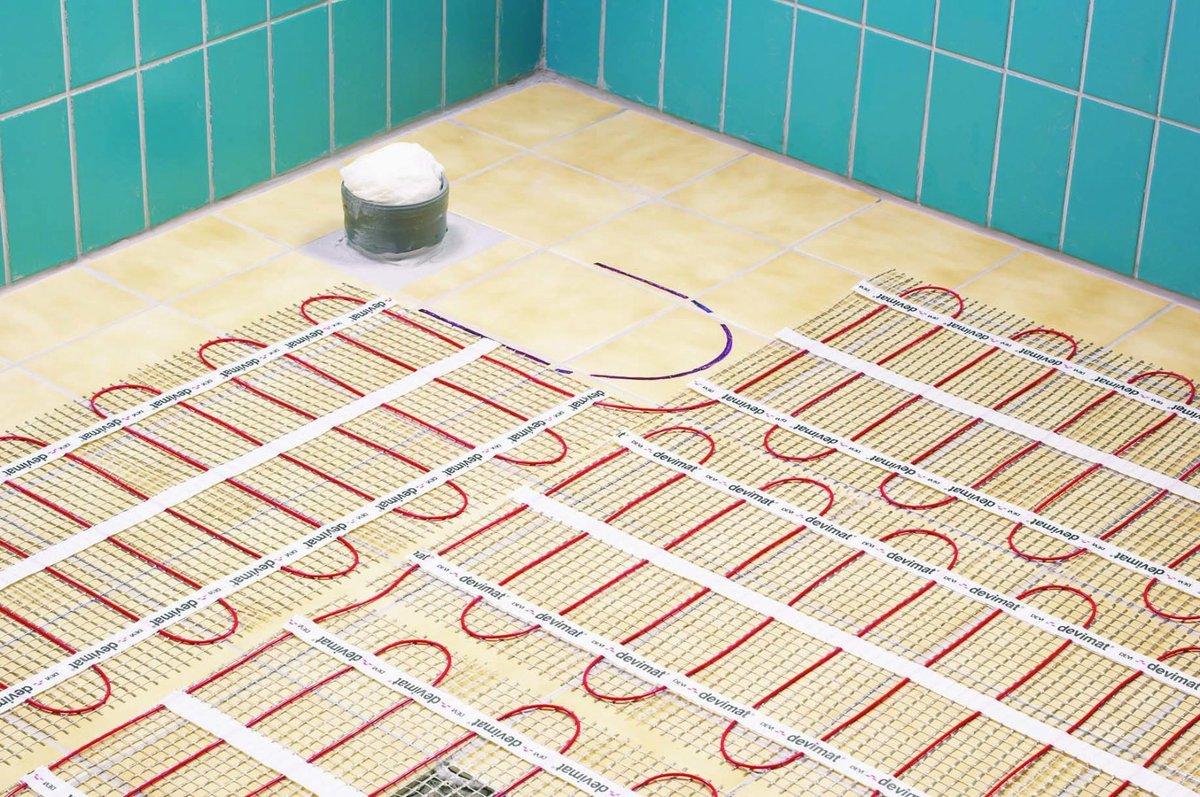 Какой теплый пол лучше подойдет под плитку