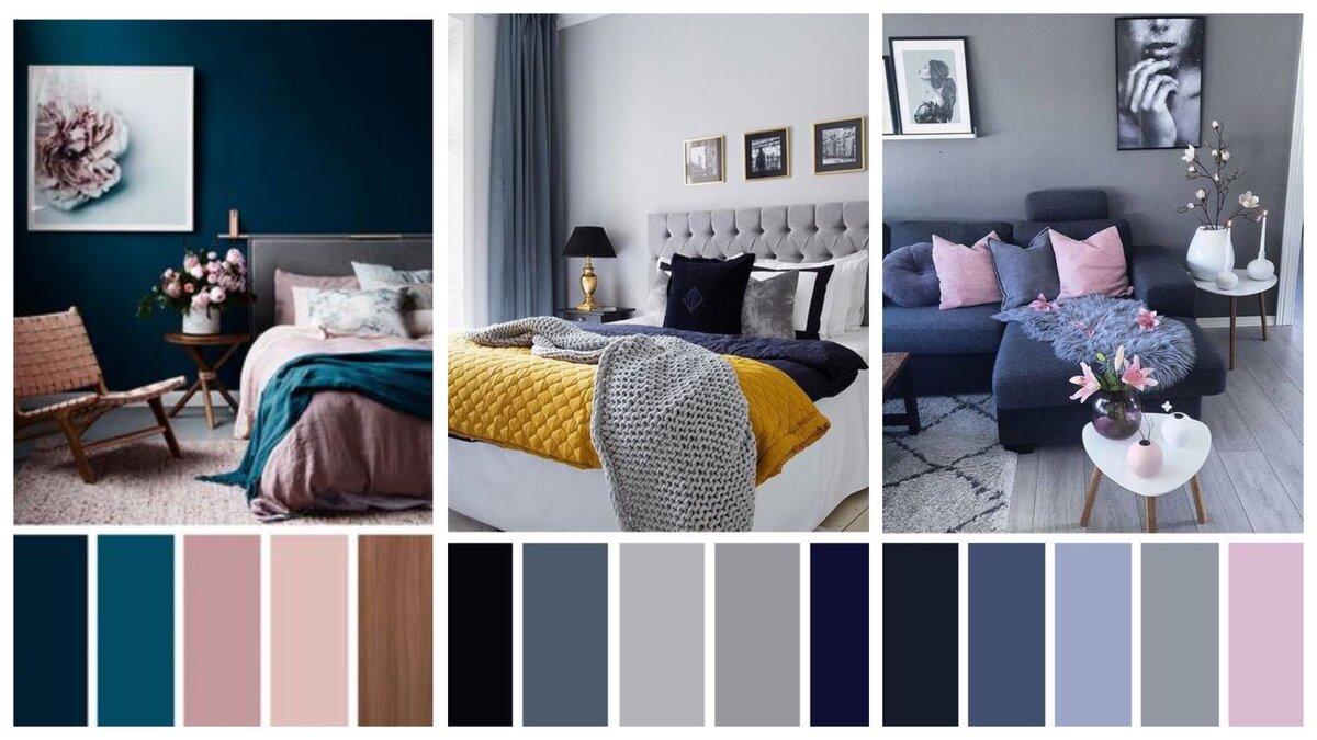 Цвет в интерьере: правильные комбинации, советы - 75 фото