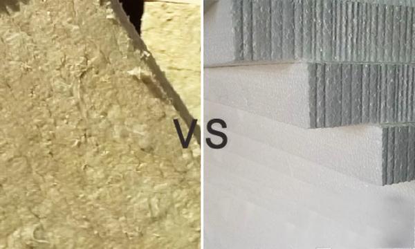 Что лучше минвата или пенопласт - отличия и наилучшие области применения