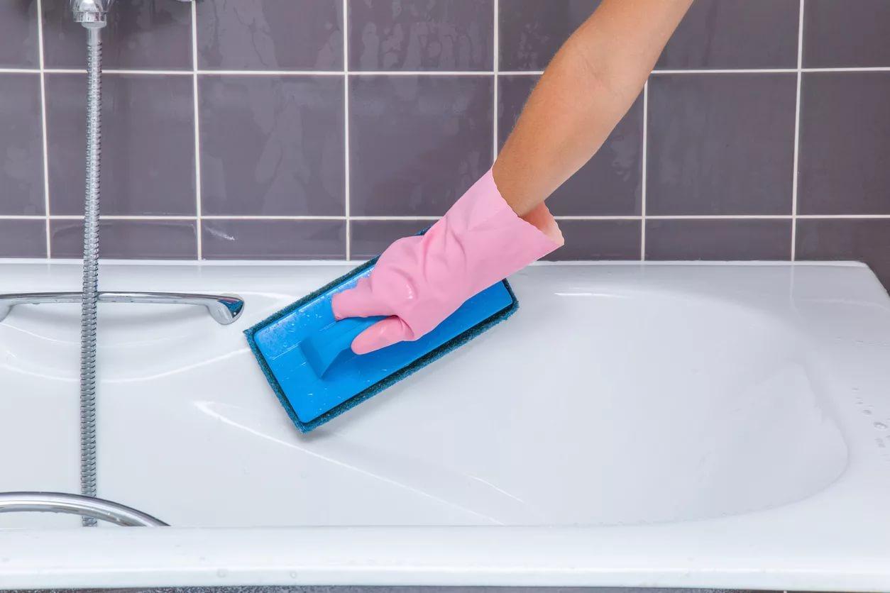Акриловые ванны чем мыть