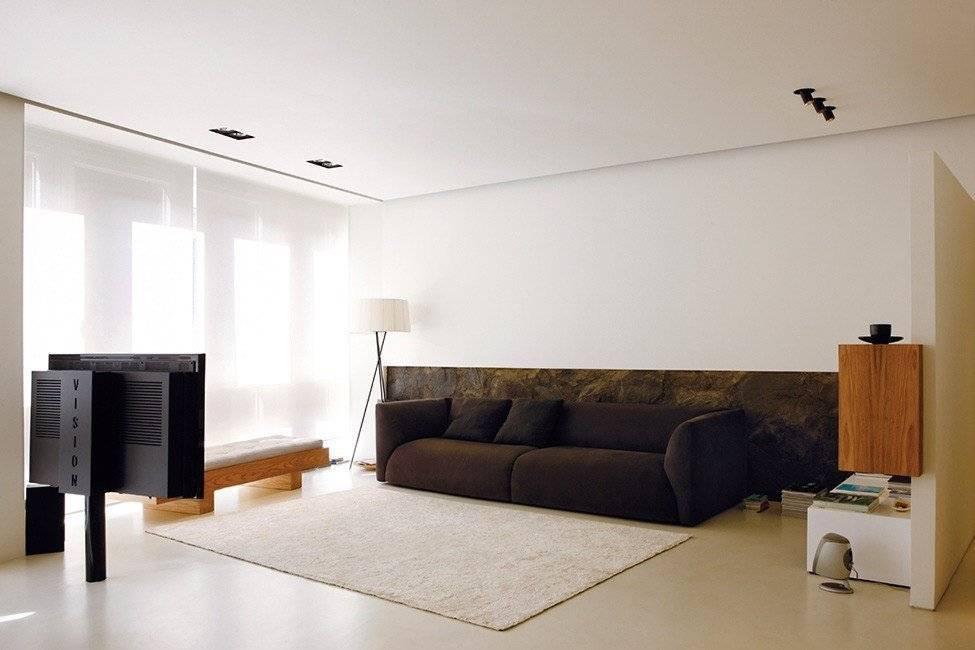 Минимализм в интерьере: описание стиля, выбор цвета, отделки, мебели и декора