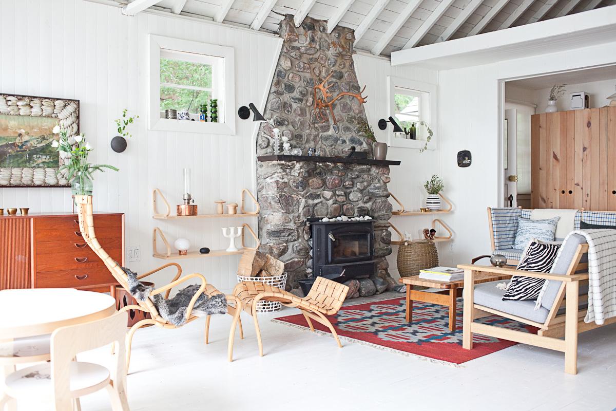 Дача в скандинавском стиле: сельская простота и аристократичная выдержанность