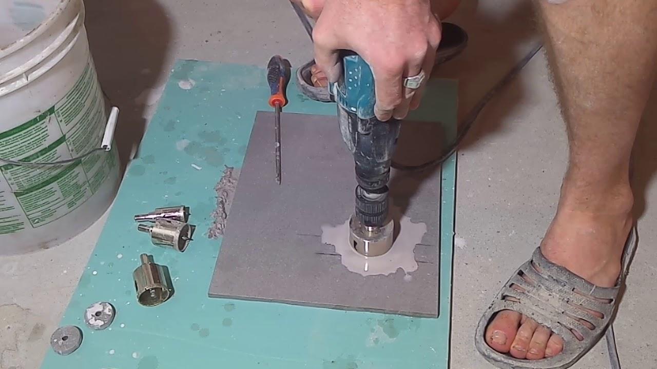 Чем сверлить керамогранитную плитку: 5 материалов для работы