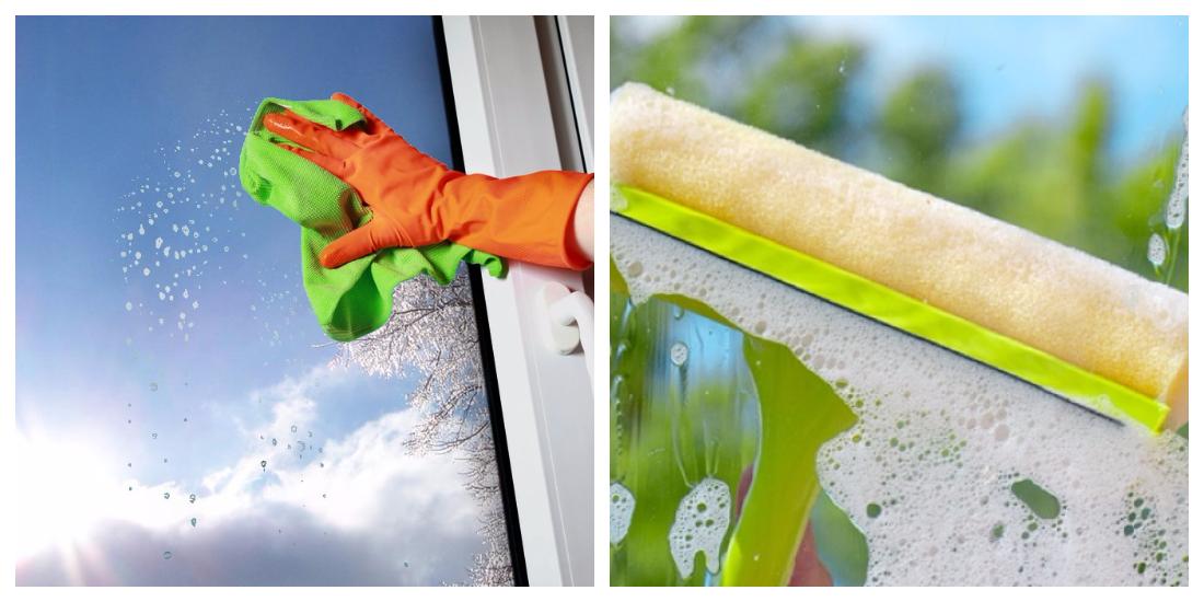 Как правильно мыть пластиковые окна без разводов и чем: домашние средства, пароочиститель и тд