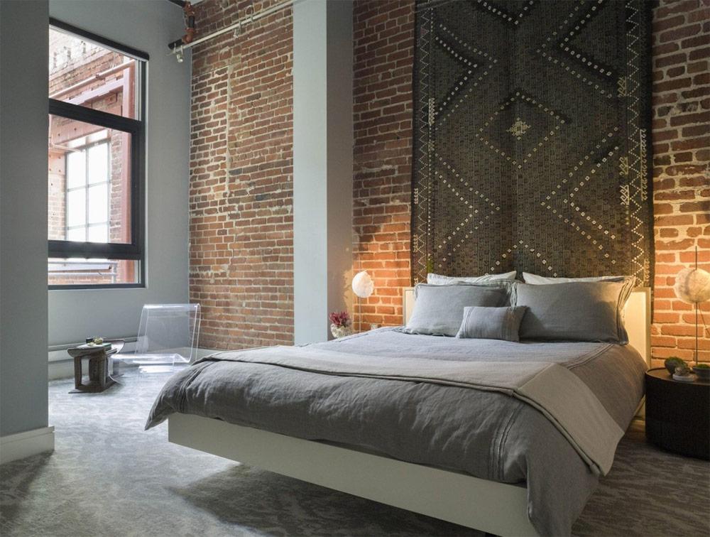 Сногсшибательные идеи оформления спален в стиле лофт: 22 ярких примера