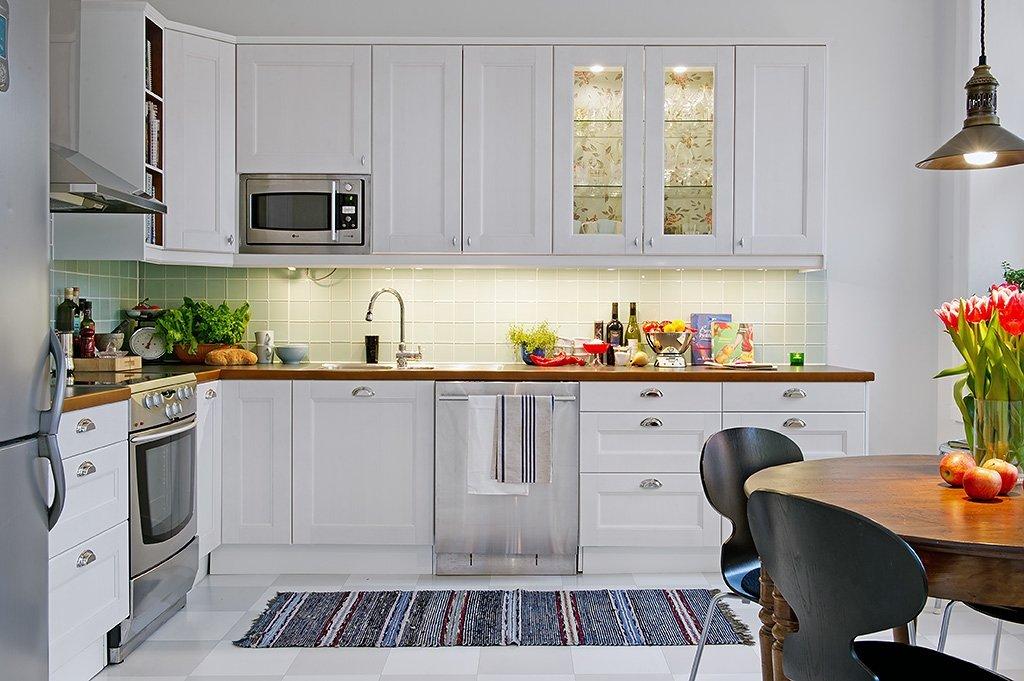 Правила и принципы оформления кухни в скандинавском стиле