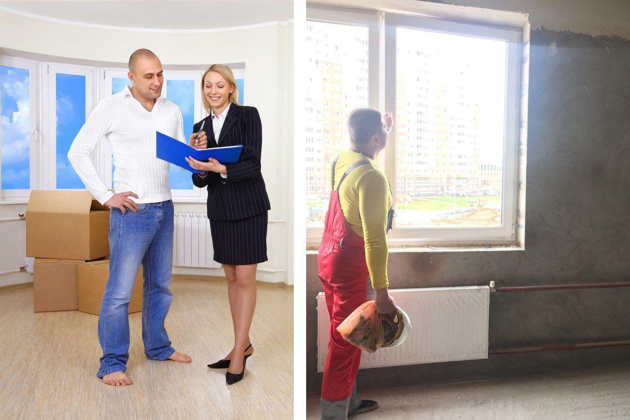 Порядок приемки квартиры без отделки от застройщика – на что обратить внимание
