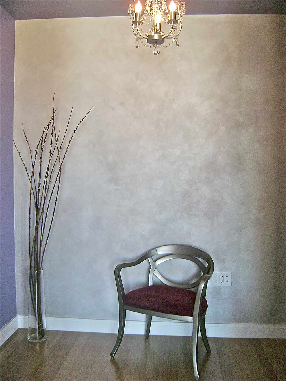 Использование штукатурки в дизайне и интерьере квартир