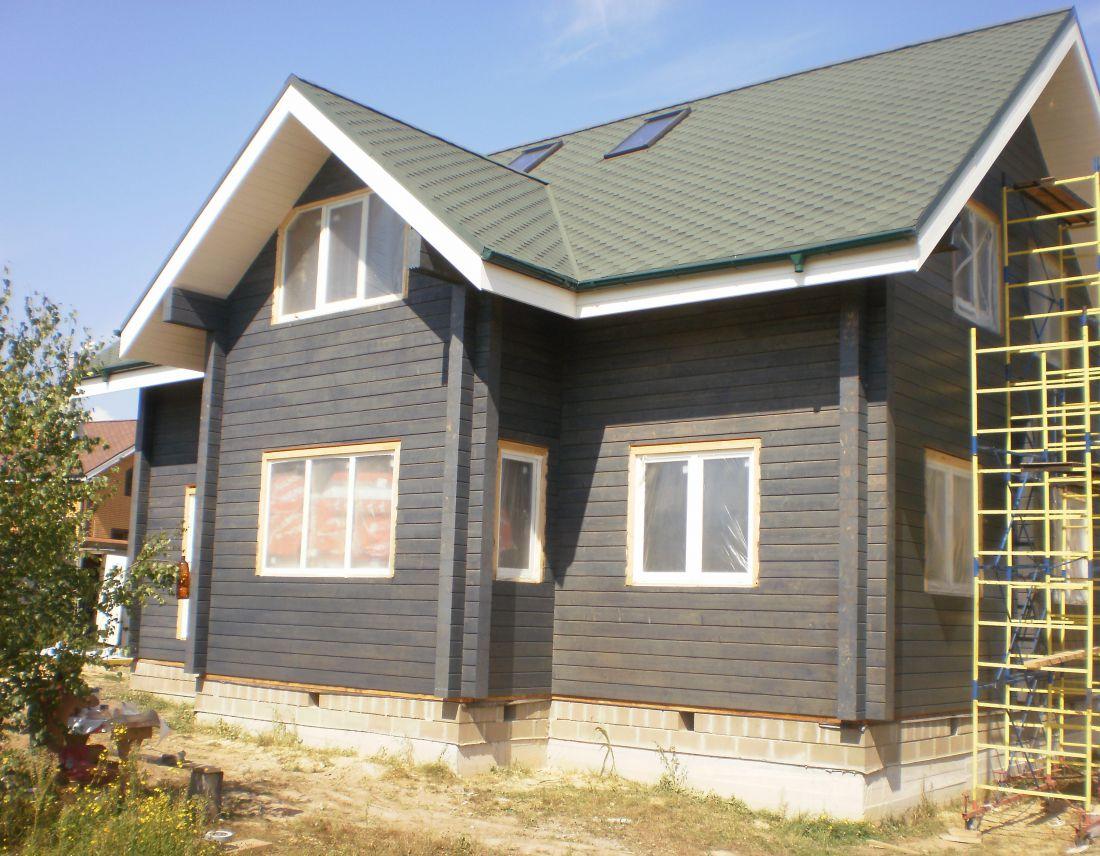 Особенности покраски деревянного дома снаружи