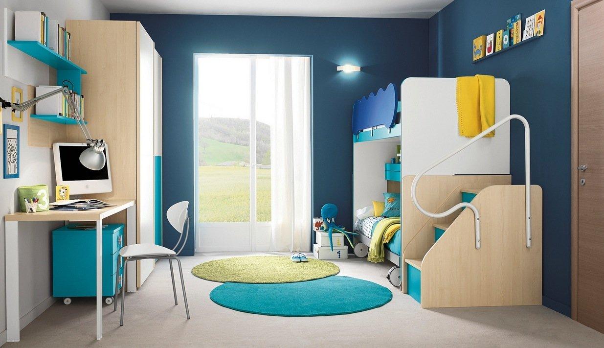 Стены в детской: дизайн отделки и оформления, фотографии примеров интерьера