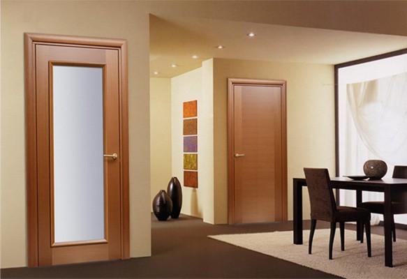 Какие двери лучше – из пвх или шпона?