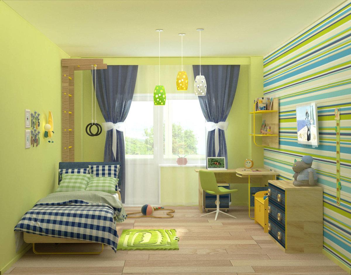 Ремонт детской комнаты: примеры интерьера, фотографии дизайна помещения