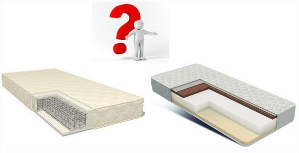 Какой матрас лучше: пружинный или беспружинный? какой матрас стоит приобрести?