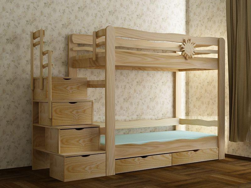 Советы плотника: как сделать двухъярусную кровать своими руками, обзор инструкций с фото