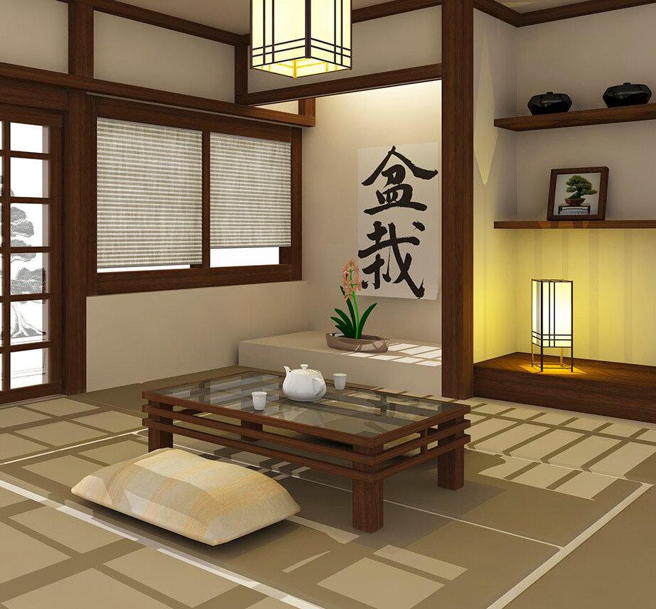 Японский стиль в интерьере в современной интерпретации