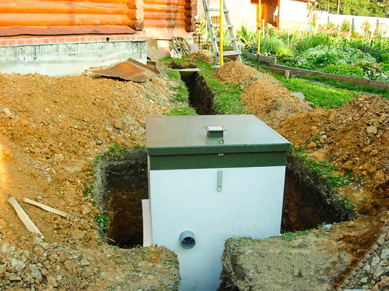 Как выбрать септик для частного дома: виды и технические параметры автономных канализаций