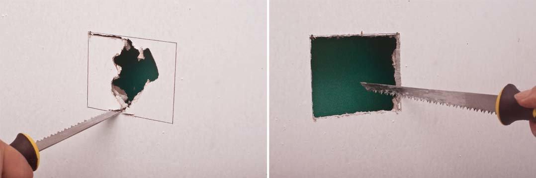 Чем и как резать гипсокартон: инструмент для резки, фото и видео