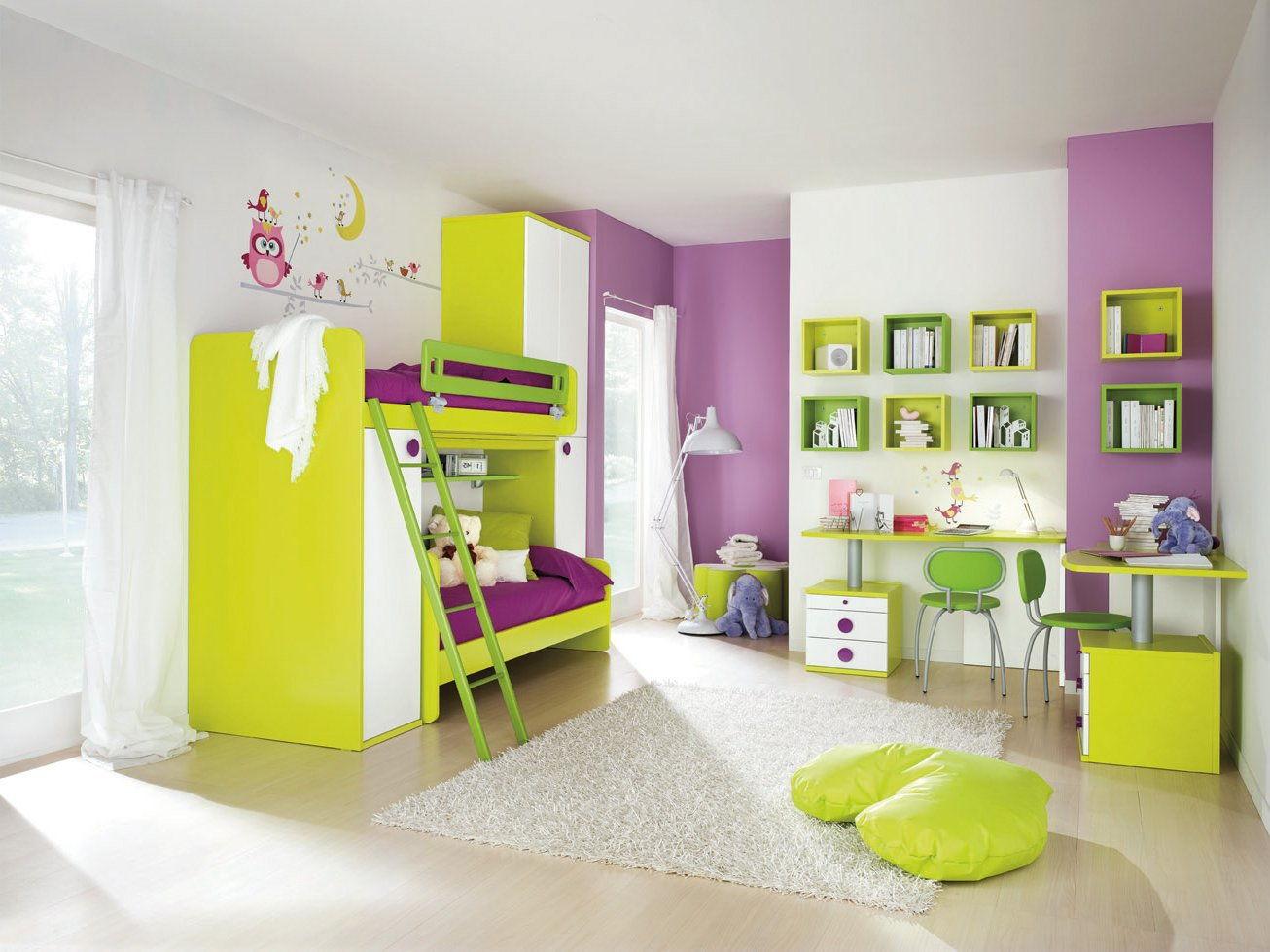 Советы и рекомендации по оформлению стен в детских комнатах