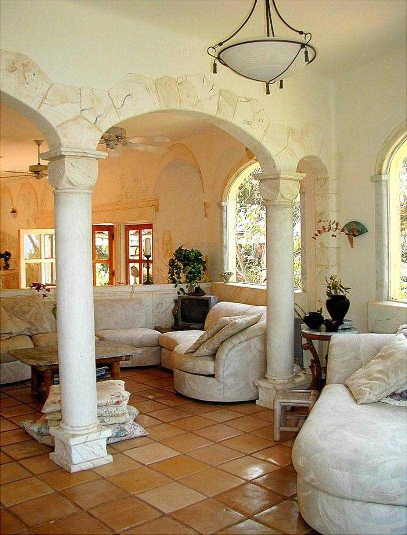 Античный стиль в интерьере современных квартир и частных домов