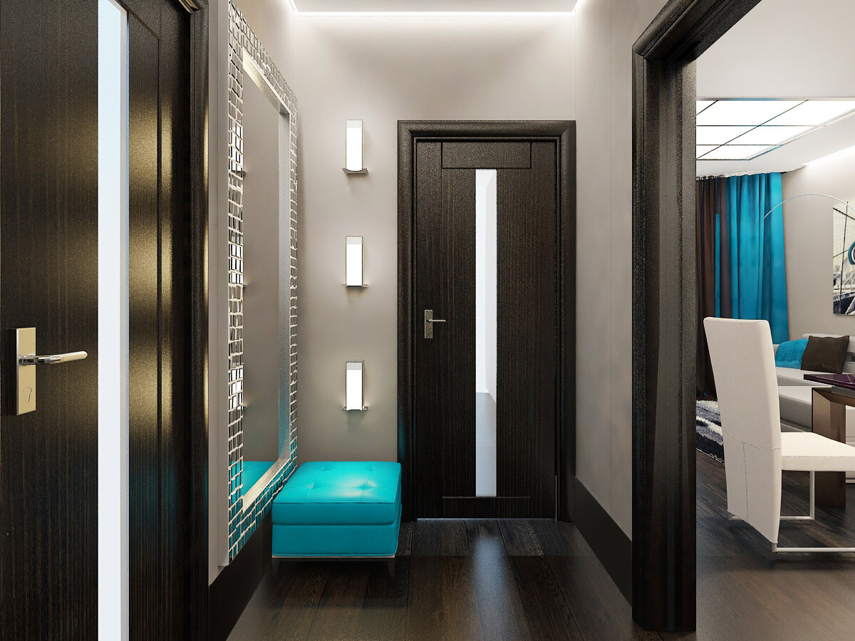Интерьер гостиной в стиле модерн - особенности оформления, отделки, декора