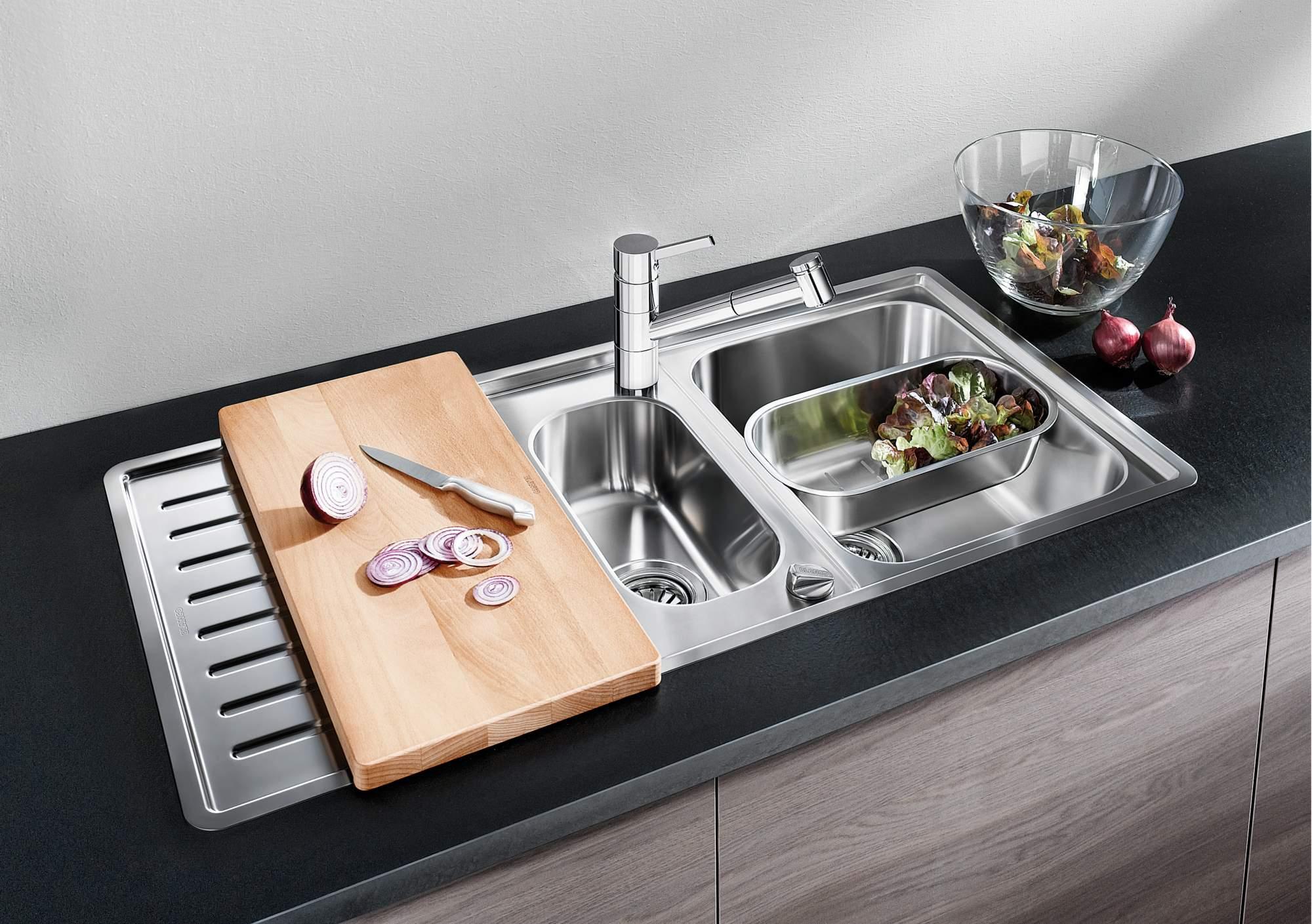 Виды мойки для кухни (64 фото): какие бывают самые лучшие формы кухонных раковин