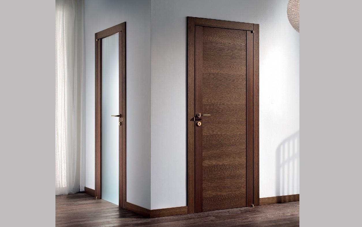 Какие лучше — ламинированные или шпонированные двери: делаем анализ