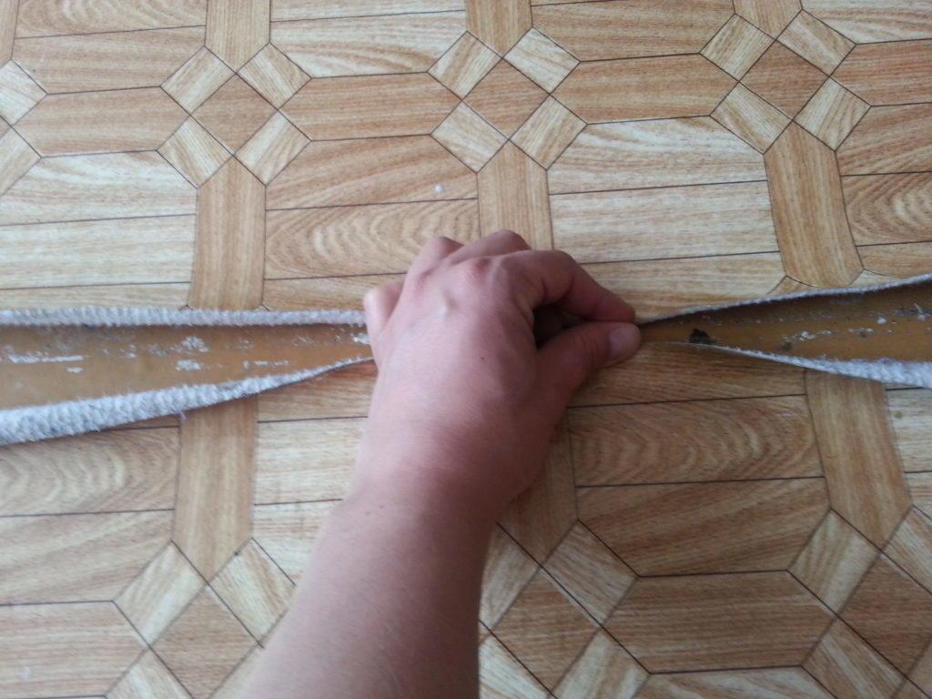 Правильная укладка линолеума на линолеум – советы специалистов