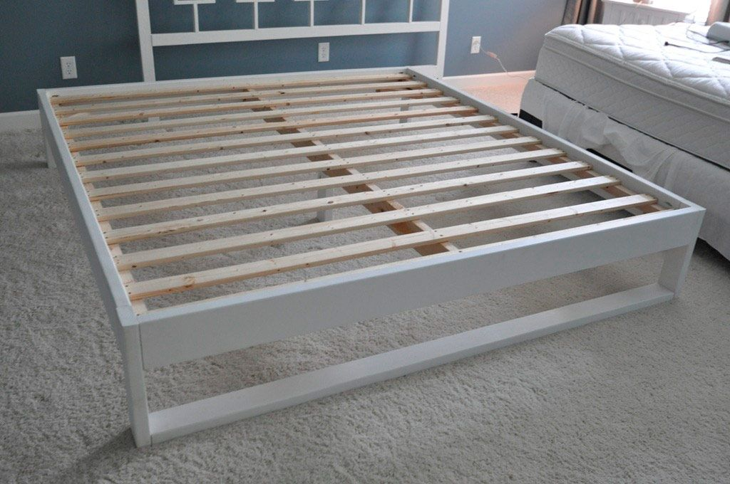 Изготовление и декорирование двуспальной кровати
