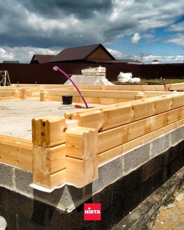 Какой брус подходит для строительства дома?