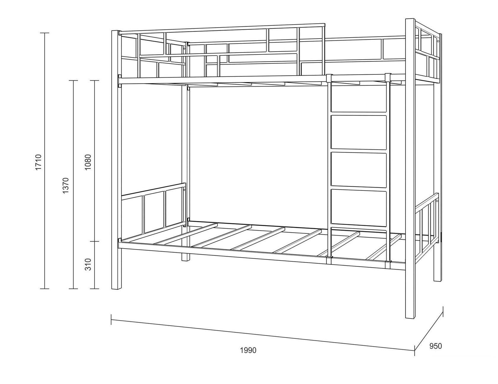 Как самому сделать двухъярусную кровать