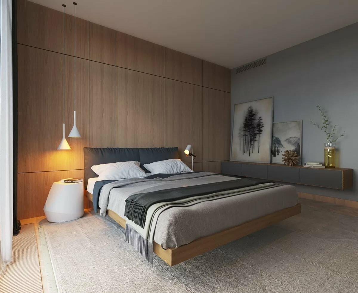 Спальня минимализм: основы стиля и его особенности. нюансы отделки стен, пола и потолка. выбор цветового оформления. мебель в минималистичной спальне
