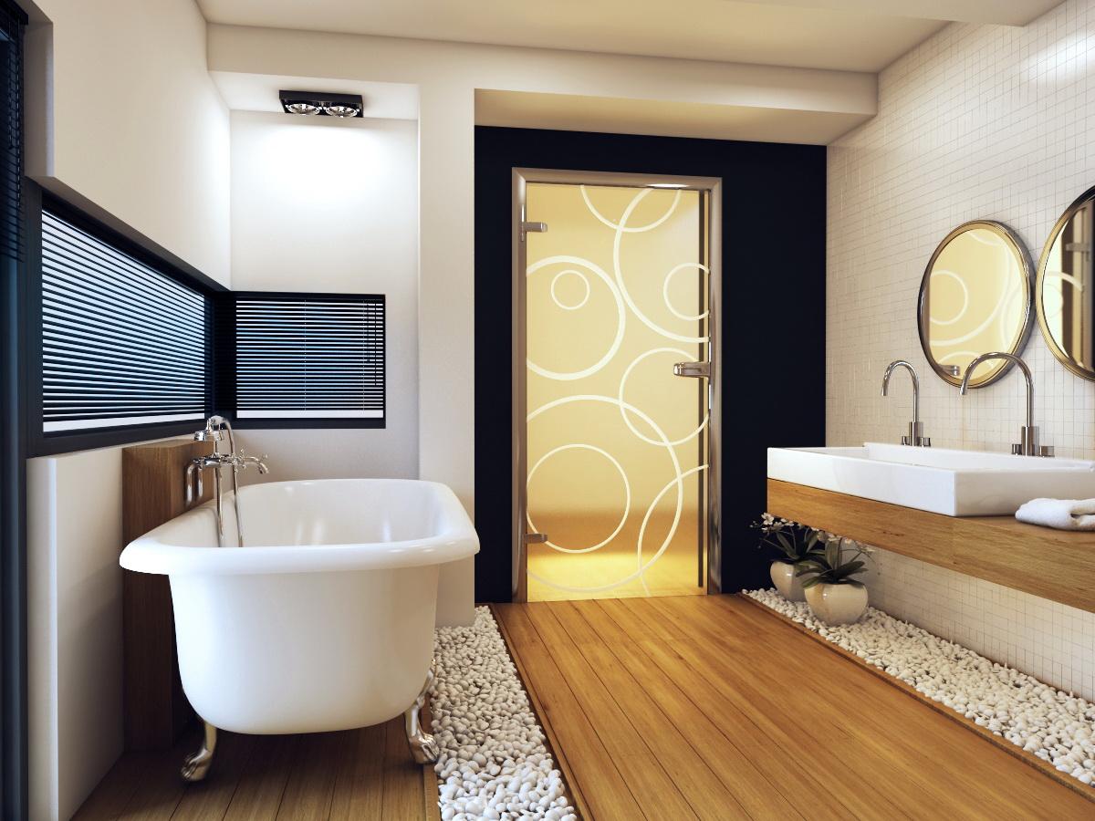 Особенности выбора и установки дверей для ванной и туалета