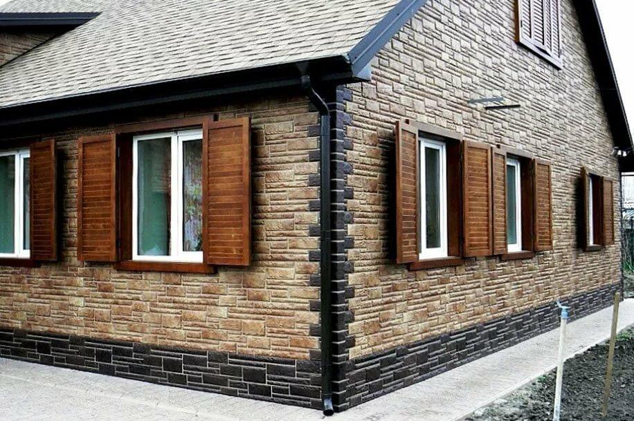 Сайдинг (135 фото): обшитые сайдингом дома, виды и варианты расцветок наружных фасадных панелей
