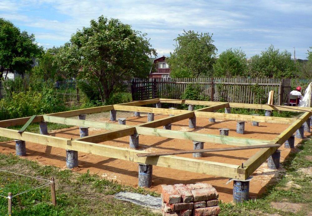 Какой фундамент под брусовой дом подойдет лучше?
