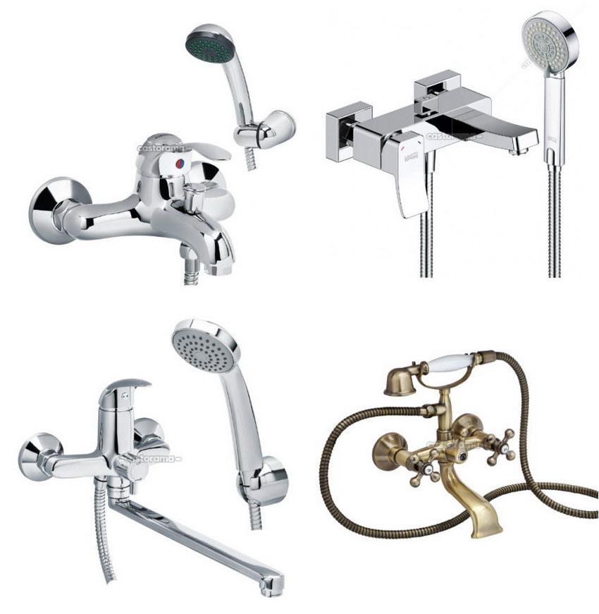 Как выбрать смеситель для ванной с душем?   советы специалистов