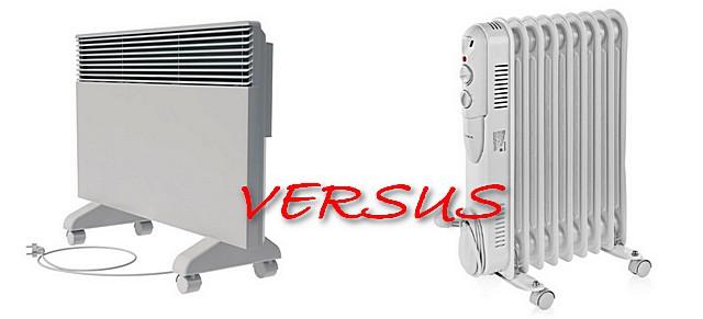 Что лучше— масляный радиатор или конвектор?
