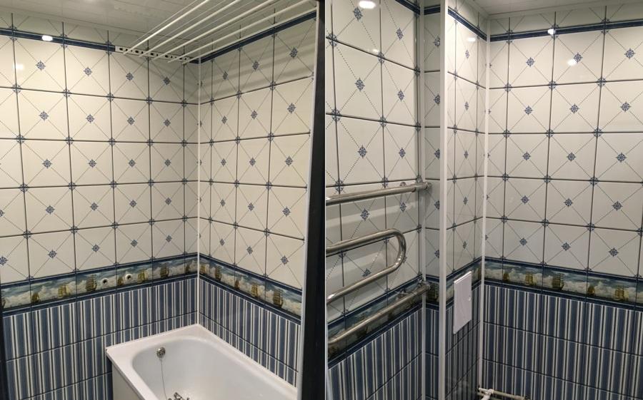 Как отделать ванную комнату пластиковыми панелями - советы, рекомендации, достоинства