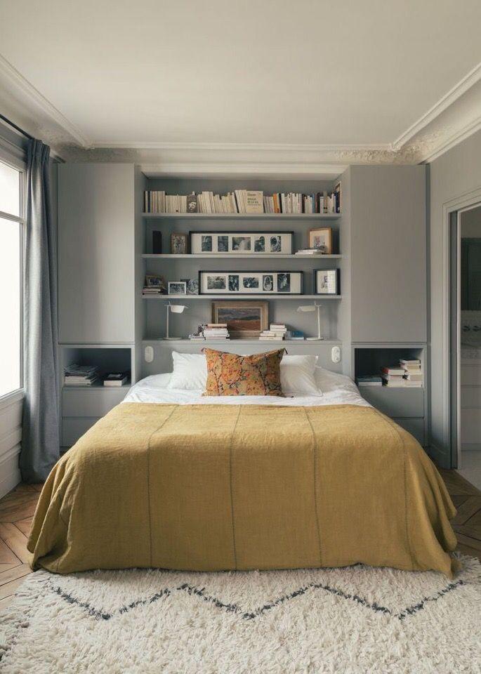 Дизайн маленькой спальни: 90 фото и идей интерьеров