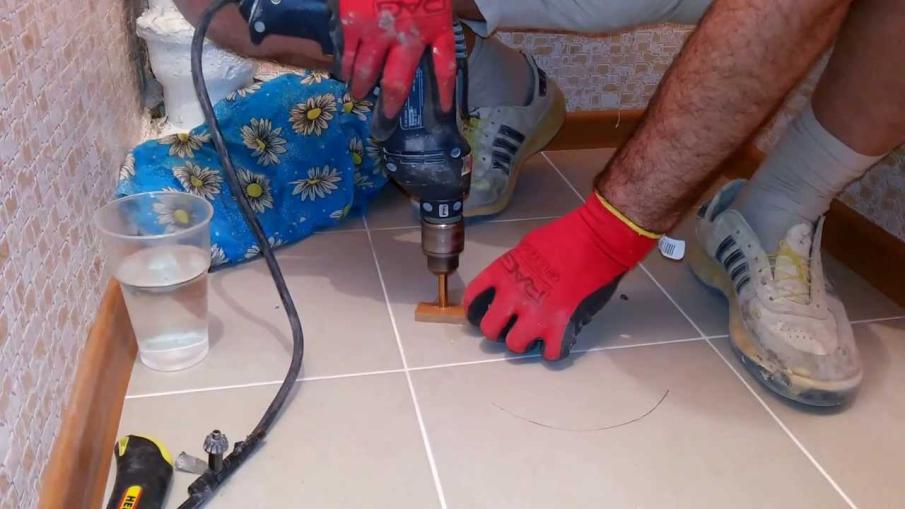Сверление и резка керамогранита в домашних условиях: фото и видео