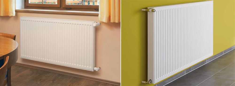 Применение стальных радиаторов отопления — типы и размеры батарей