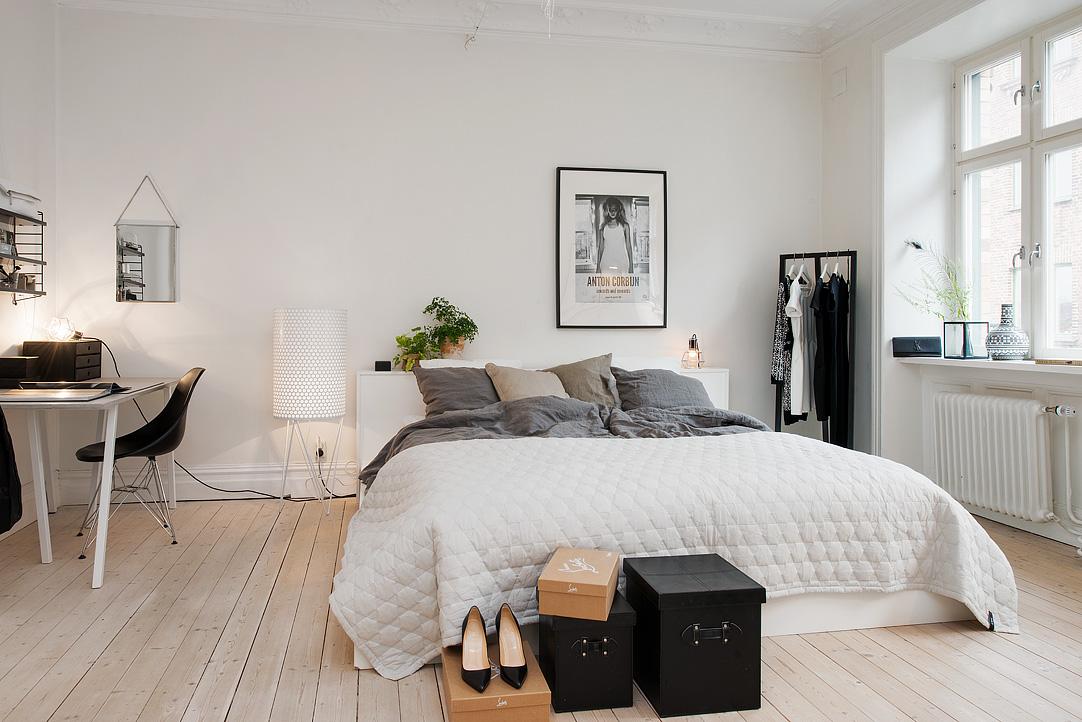 Советы по оформлению скандинавской спальни