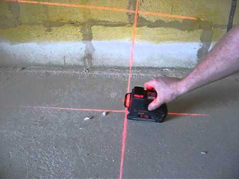 Правильное использование лазерного уровня: видеоурок