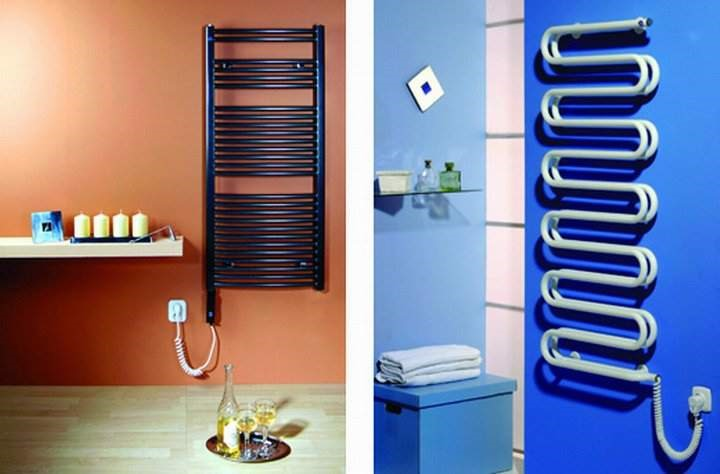 Как выполняется крепление полотенцесушителя к стене в ванной?