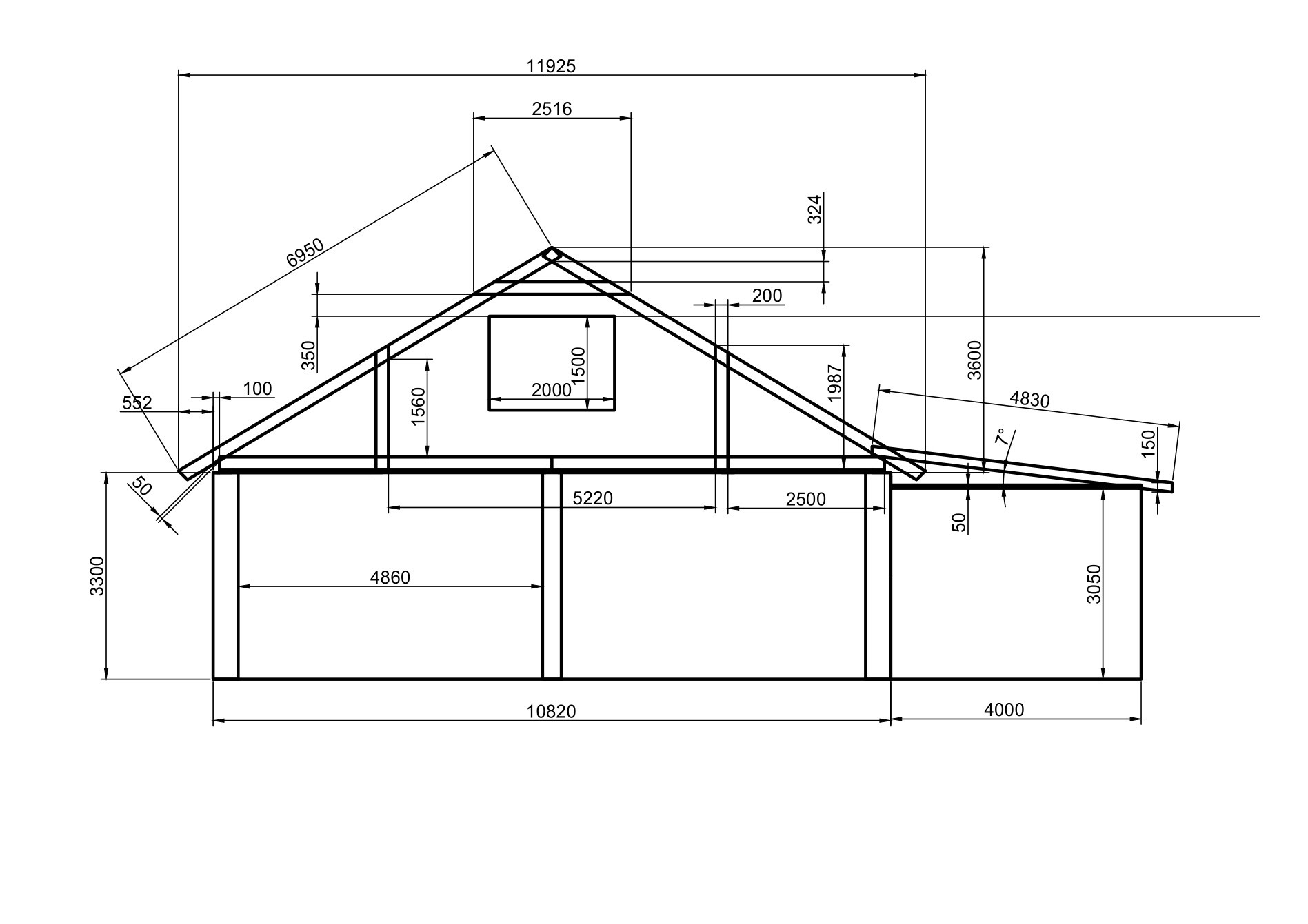 Стропильная система двускатной крыши, в том числе ее схема и конструкция, а также особенности монтажа