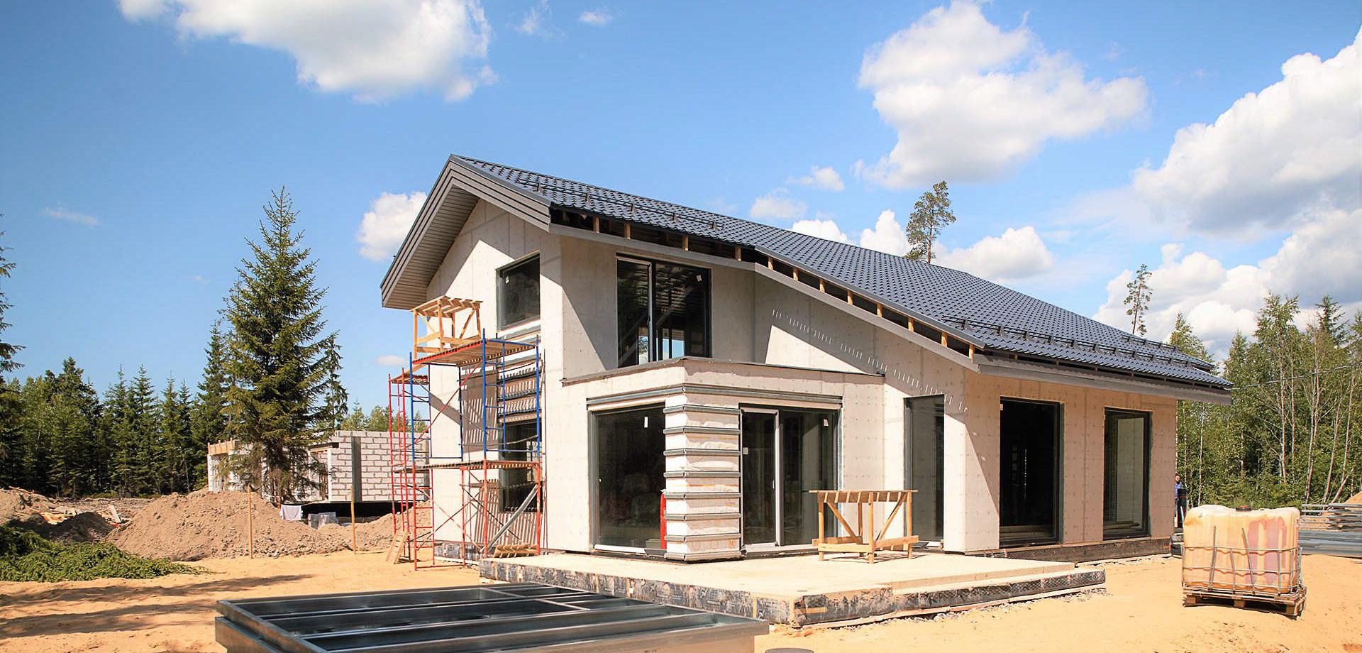 11 ключевых этапов строительства частного дома