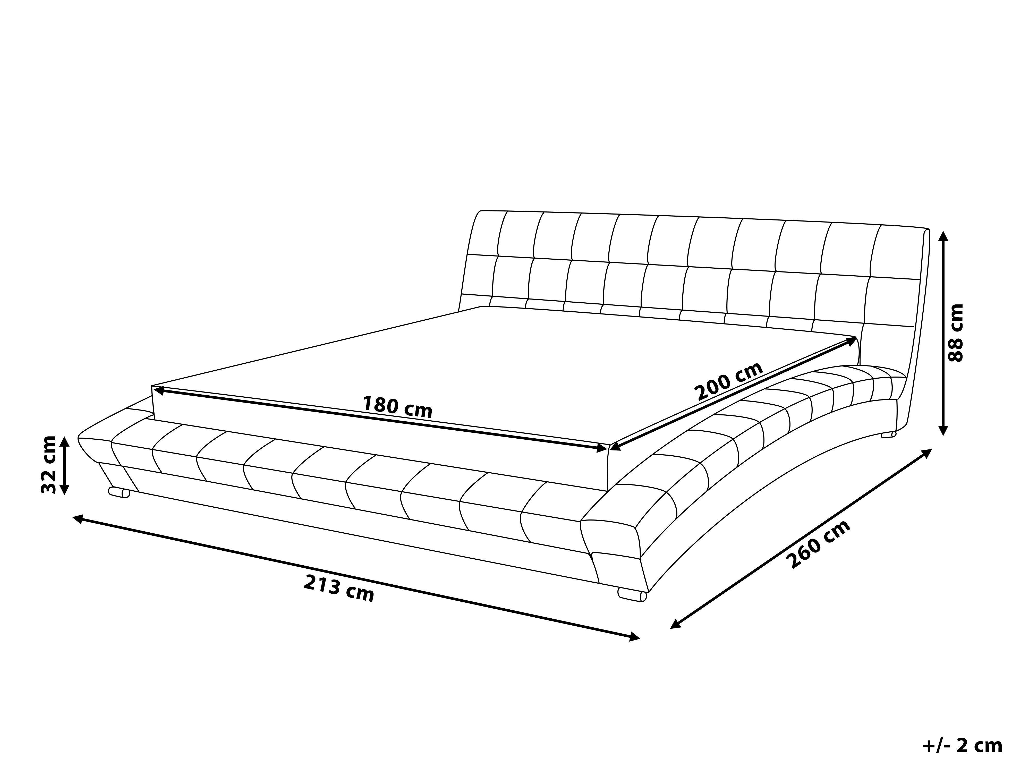 Детские матрасы: их размеры и высота для разных видов кроваток