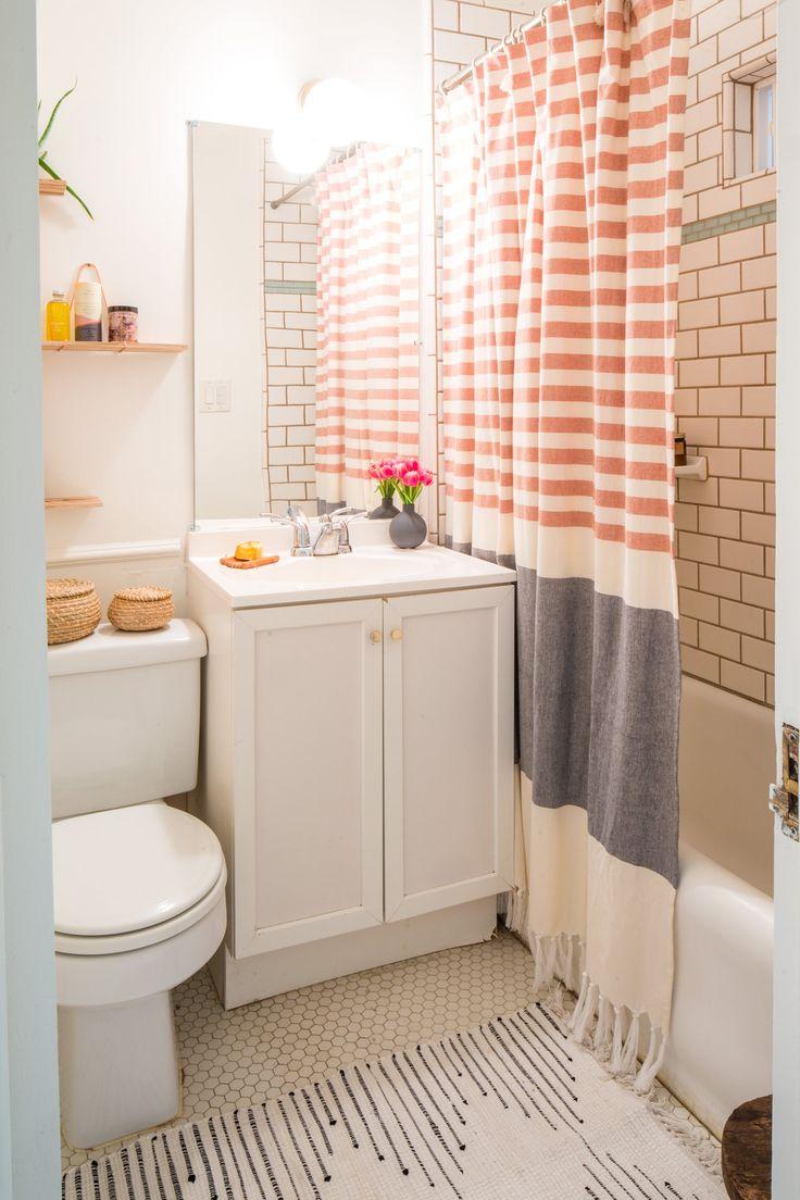 Дизайн интерьера маленькой ванной комнаты + 53 фото