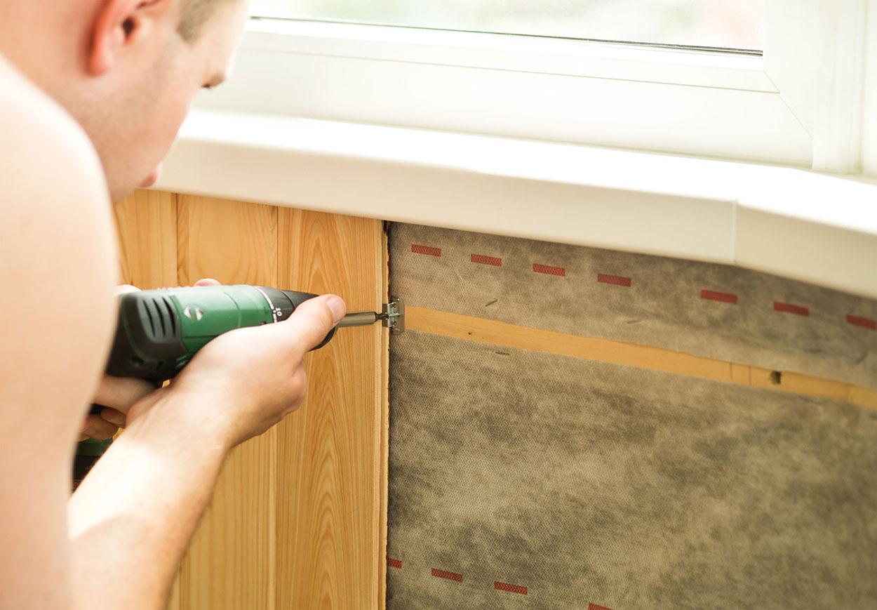 Как крепить панели пвх к стене и потолку: особенности монтажа