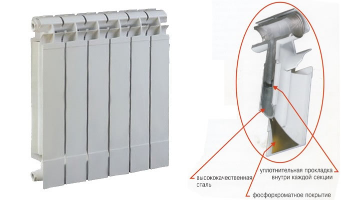 Биметаллические и алюминиевые радиаторы отопления — какие лучше?